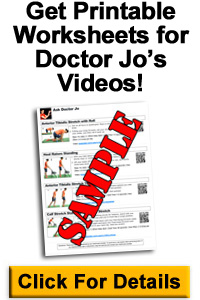 Get Doctor Jo's Video Worksheets